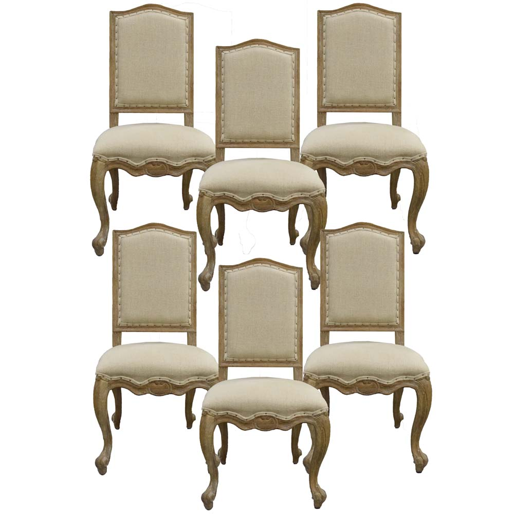 french dining chairs. Six Country French Dining Chairs By Williams-Sonoma O