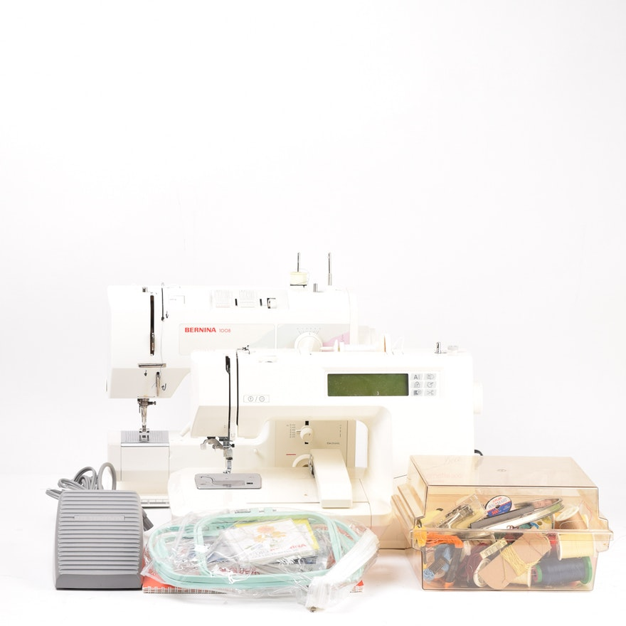 Bernina Sewing Machines And Supplies Ebth