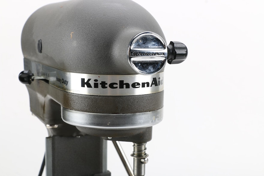 Kitchenaid Heavy Duty Stand Mixer And Accessories Ebth