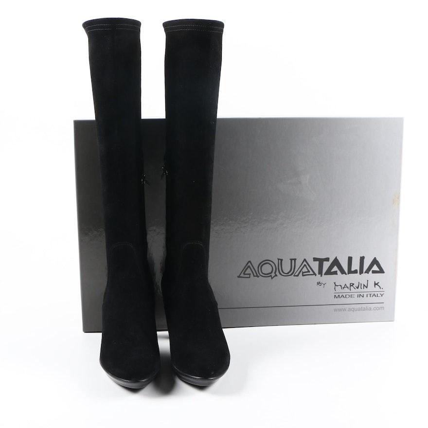 Women S Aquatalia By Marvin K Black Boots