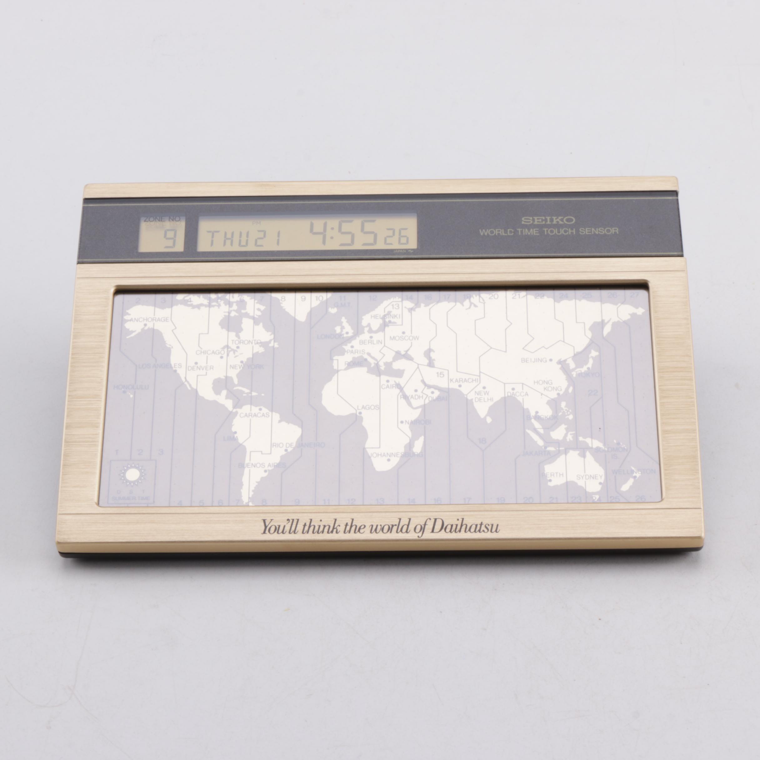 Seiko World Clock Ebth