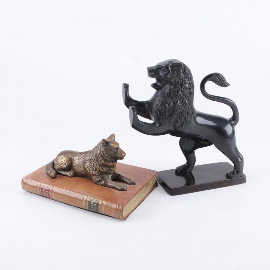 Metal Animal Bookends