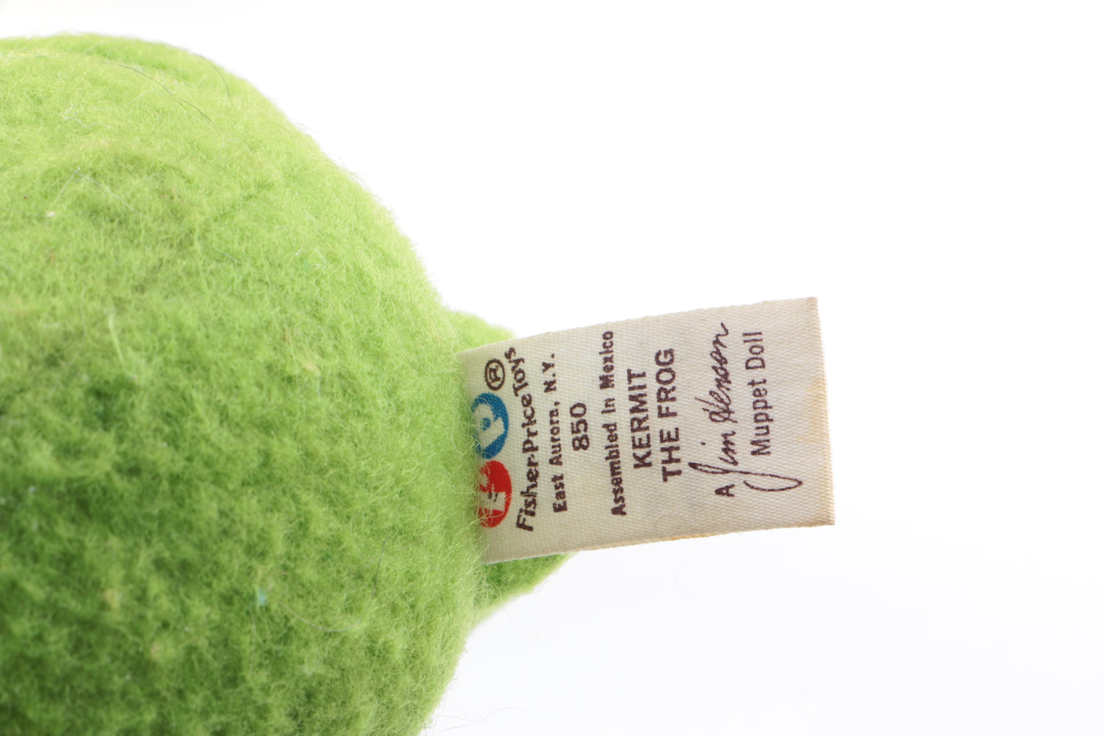 Plush Toys Including Kermit The Frog : EBTH
