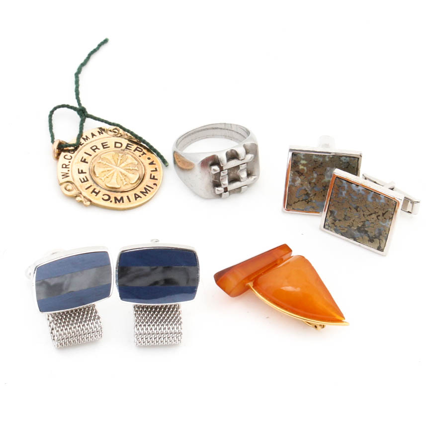 Mens Costume Jewelry Collection EBTH