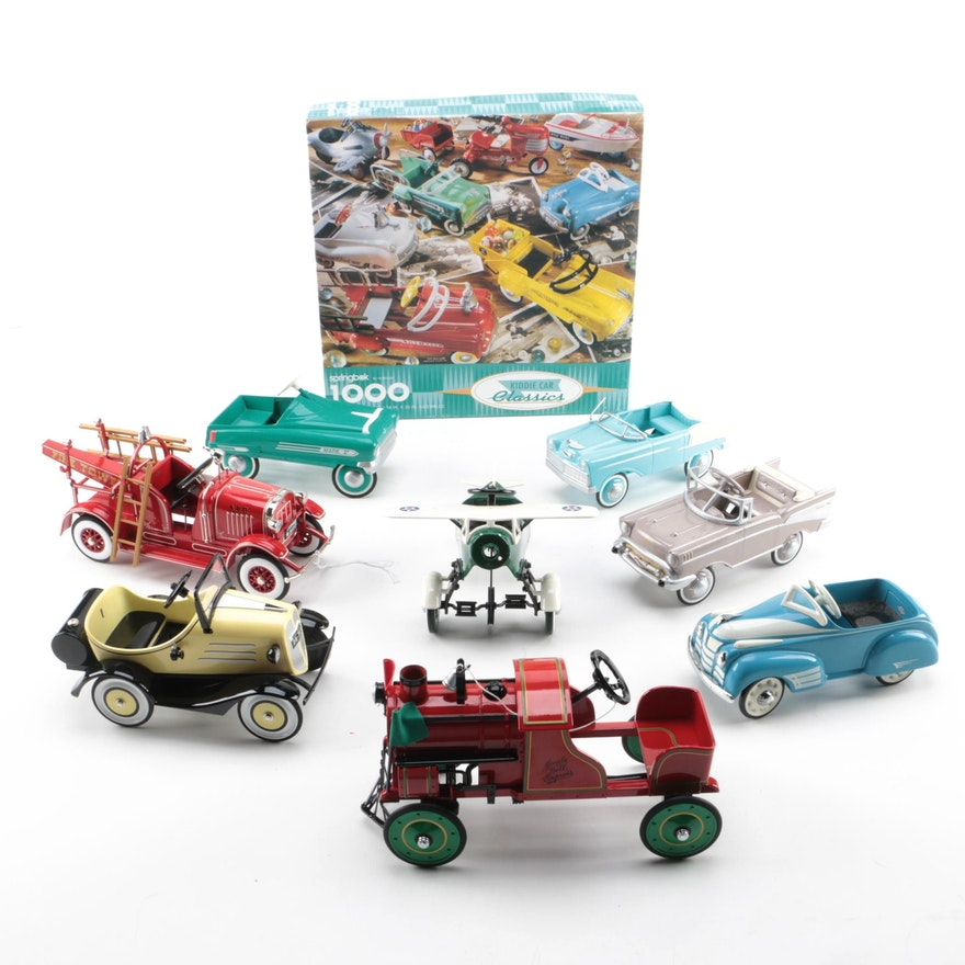 Collection of hallmark collectible classic automobile for Automobile decoration accessories