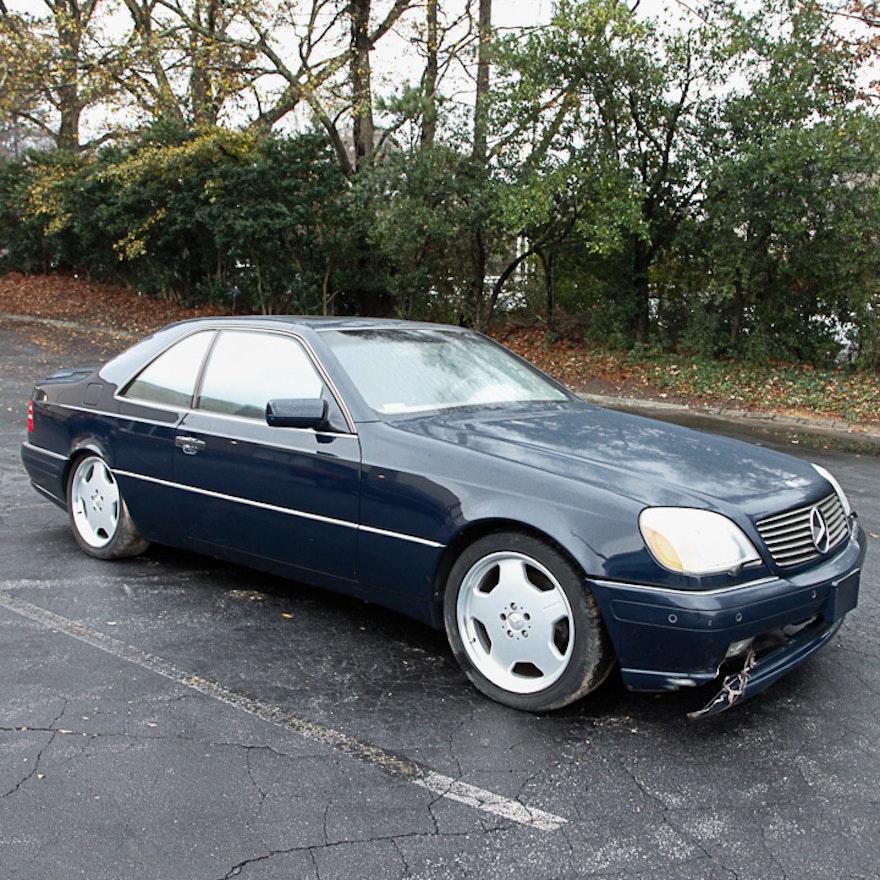 1997 mercedes benz s500 two door sedan ebth for Mercedes benz 2 door coupe