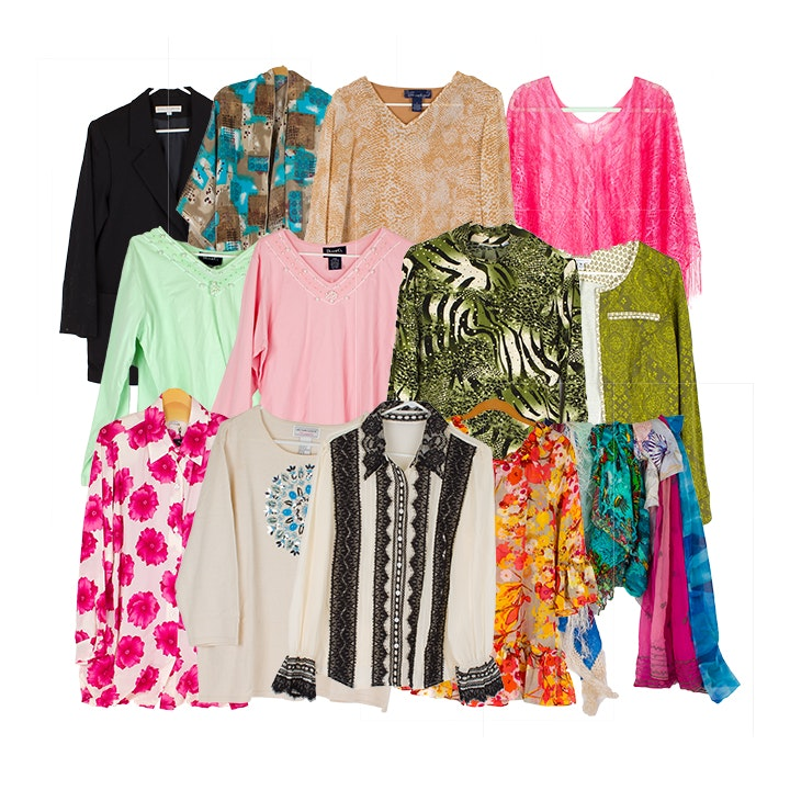 Women's Casual Clothing and Scarves