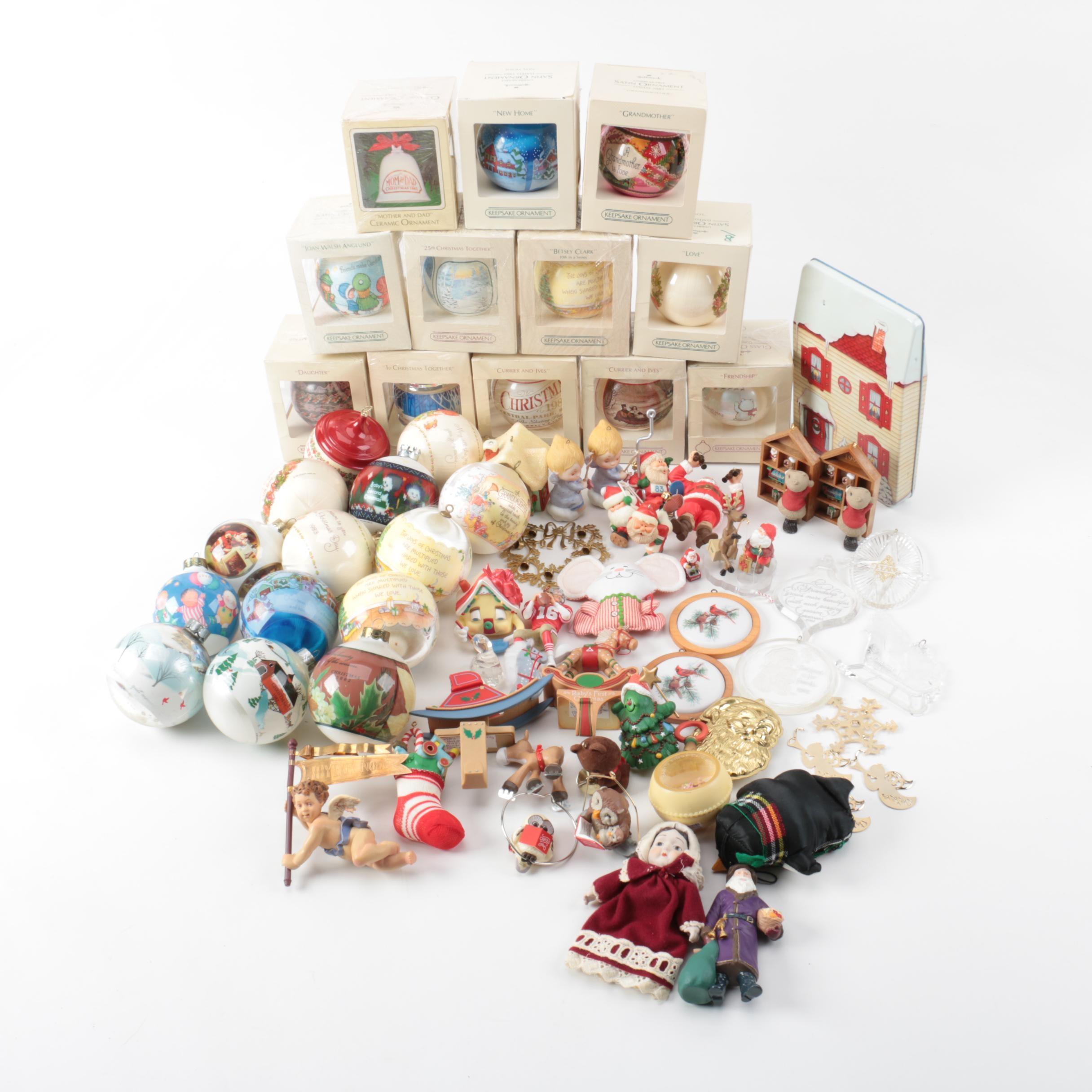 Hallmark Keepsake Christmas Ornaments EBTH