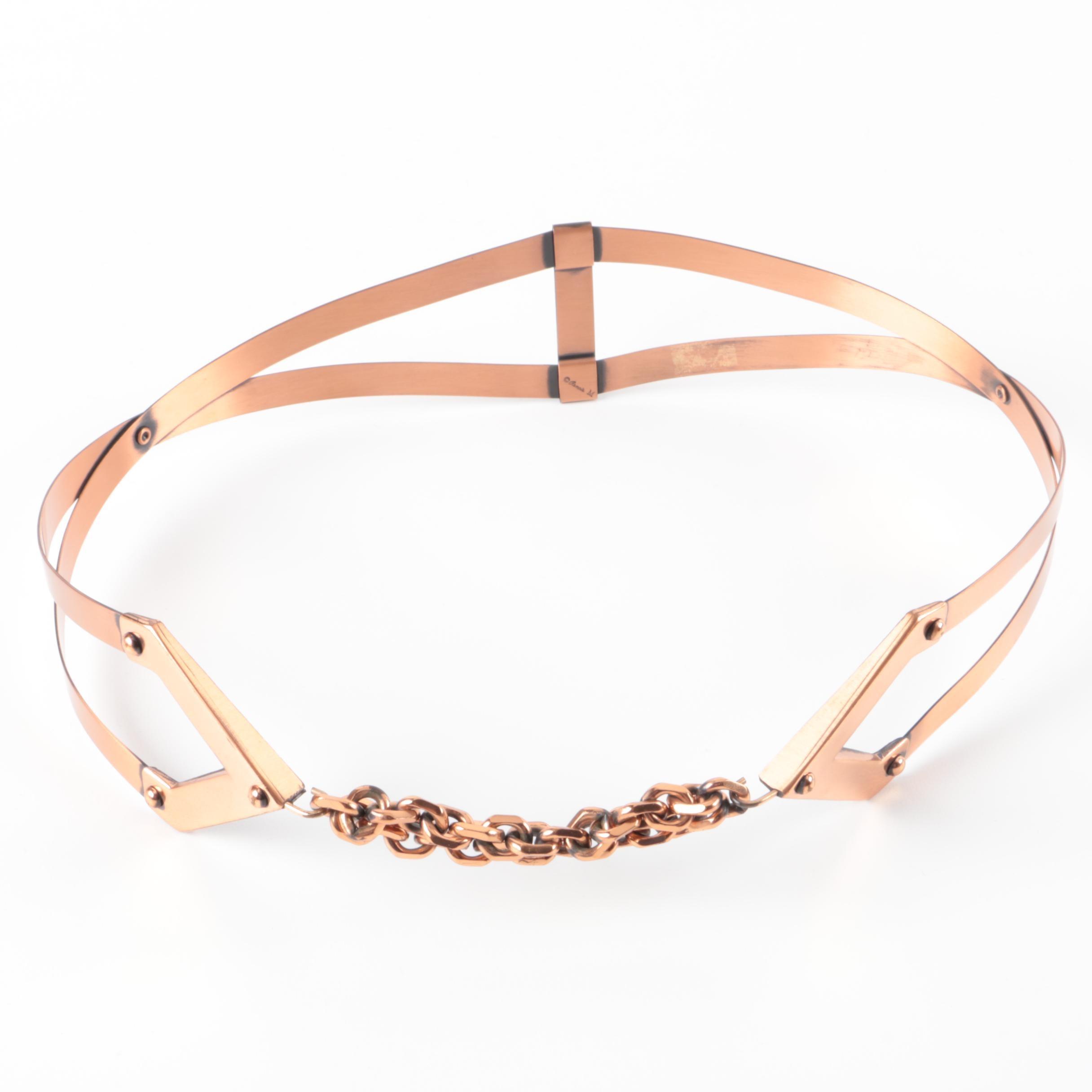 Vintage Renoir Copper Belt