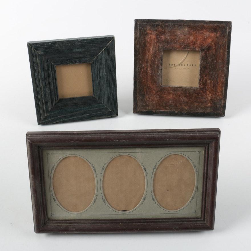 Decorative Picture Frames Including Rustic Style Pottery Barn : EBTH