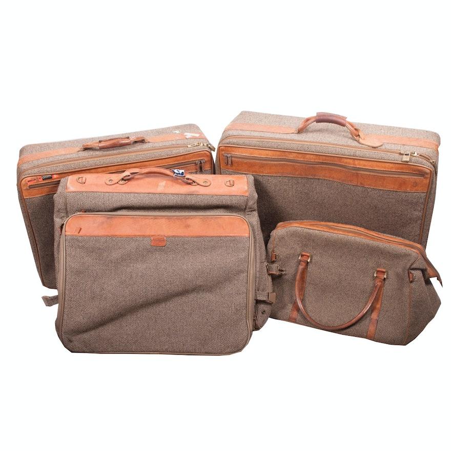 f745f8733352 Vintage Hartmann Tweed Luggage   EBTH