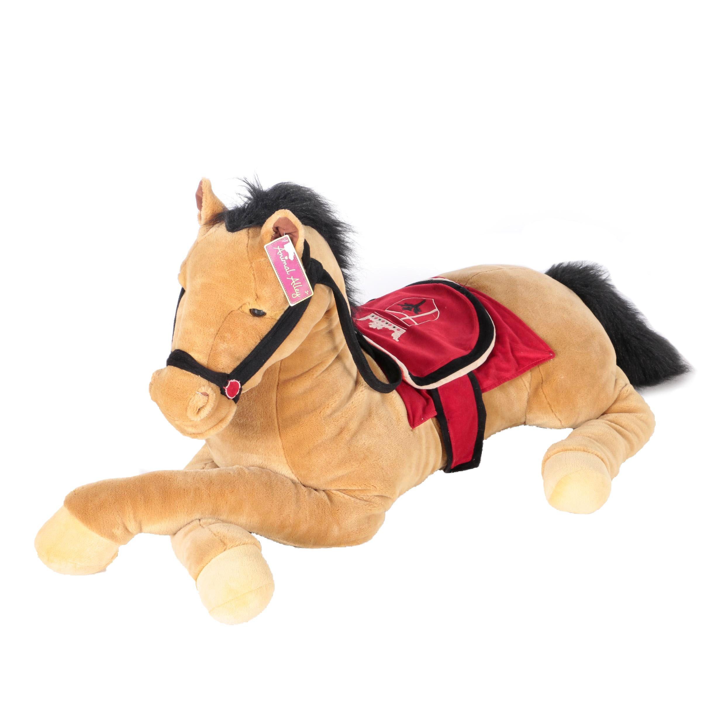 Animal Alley Plush Horse Ebth