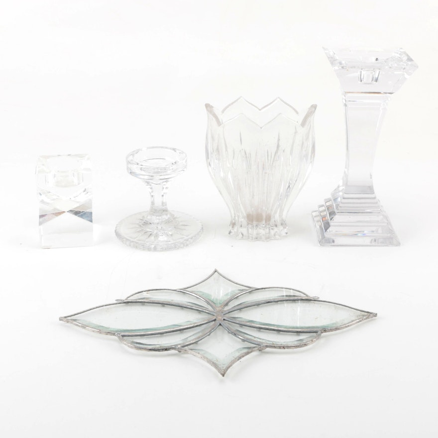 Crystal Decorative Pieces Featuring Oleg Cassini And Gorham Ebth