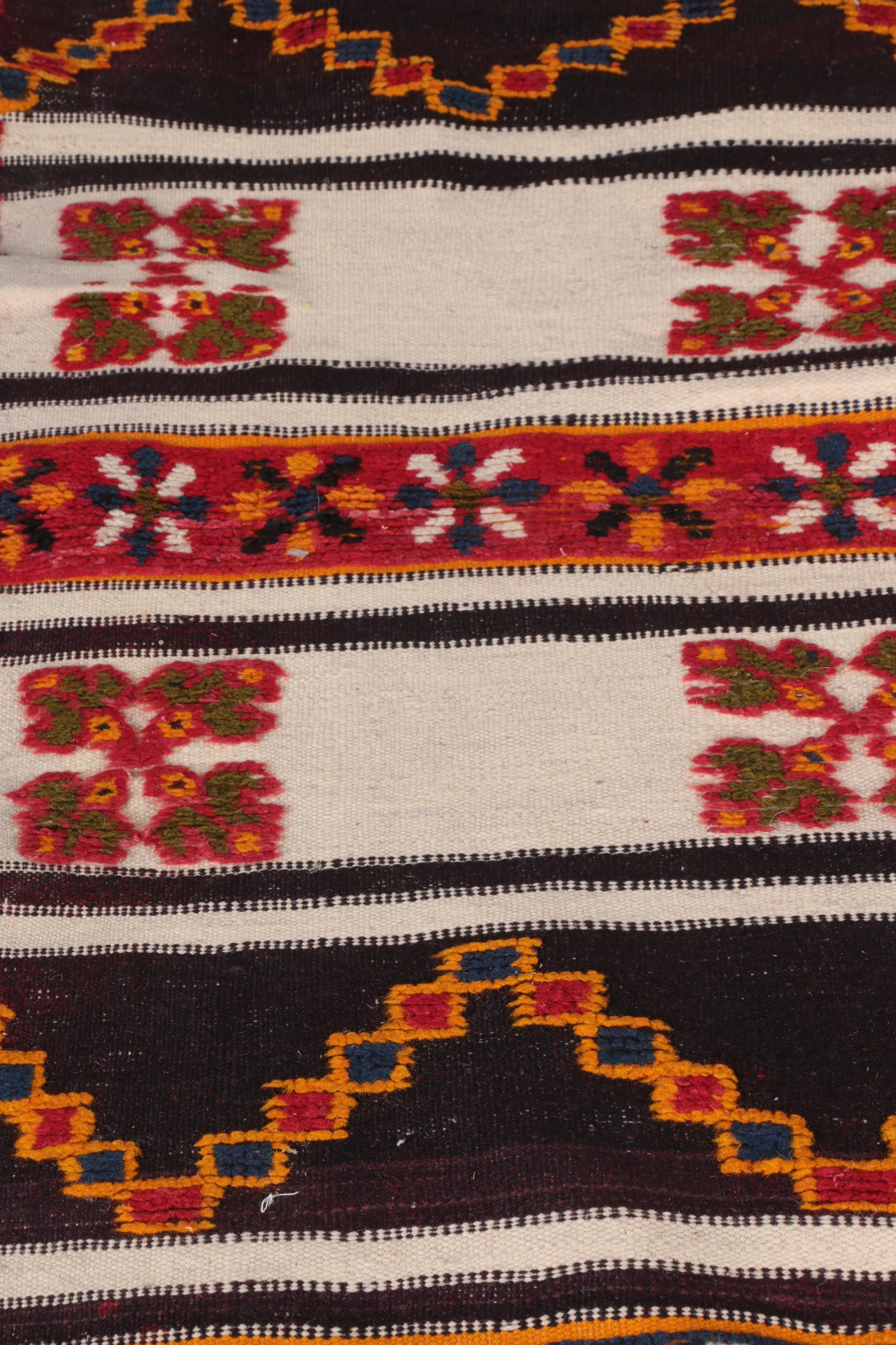 Hand Knotted Moroccan Wool Carpet Runner Ebth
