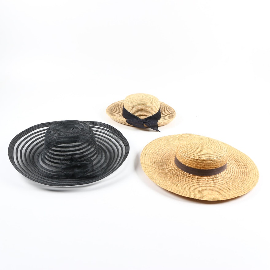 f60192ebd96 Women s Woven Hats   EBTH