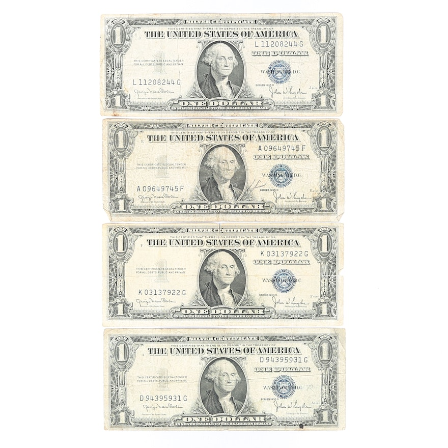 Series 1935-D One Dollar Silver Certificates : EBTH
