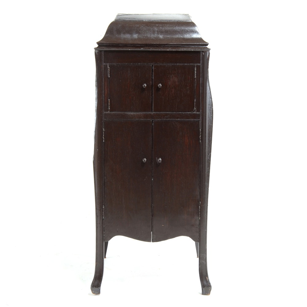 Vintage Victor Victrola Cabinet : EBTH