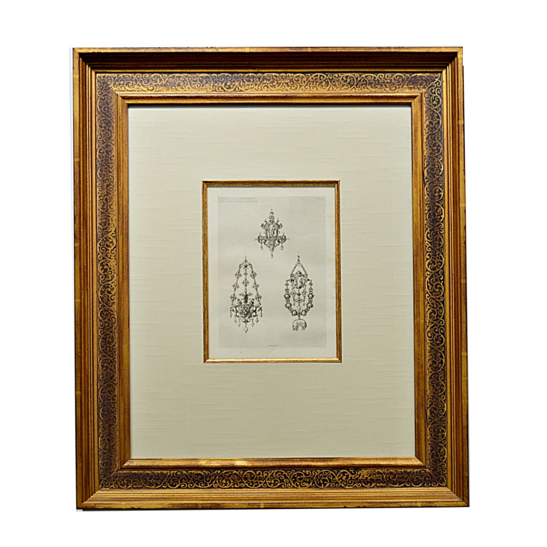 19th-Century Italian Rothschild Collection Jewelry Engraving