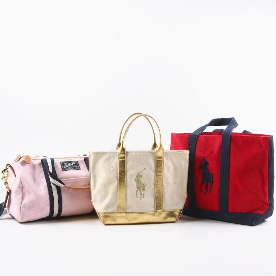 36e346d44f89 Ralph Lauren Tote Bags and Polo Ralph Lauren   Co Duffel Bag   EBTH