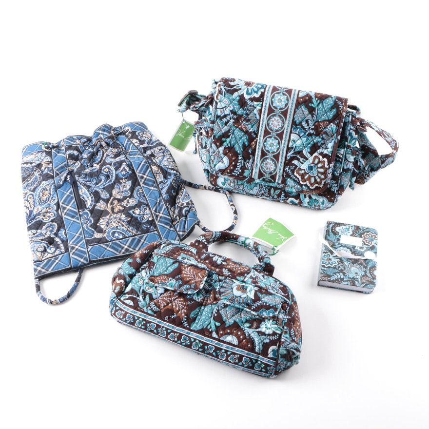 Vera Bradley Quilted Handbags And Notebook