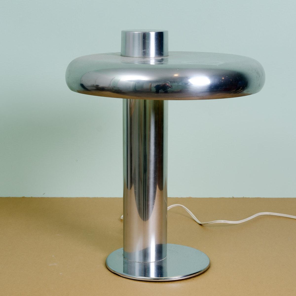 Mid Century Modern Metal Desk Lamp by Laurel