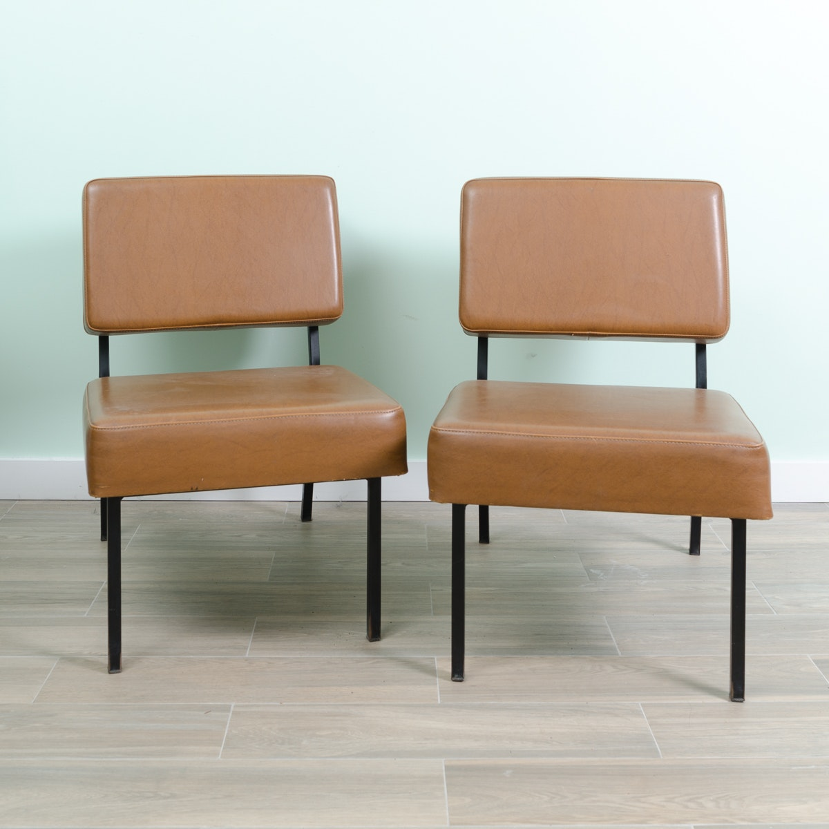Pair of Mid Century Modern Accent Chairs
