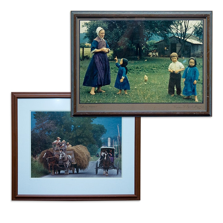 Framed Amish Photography by Bill Coleman and Rowan P. Smolcha