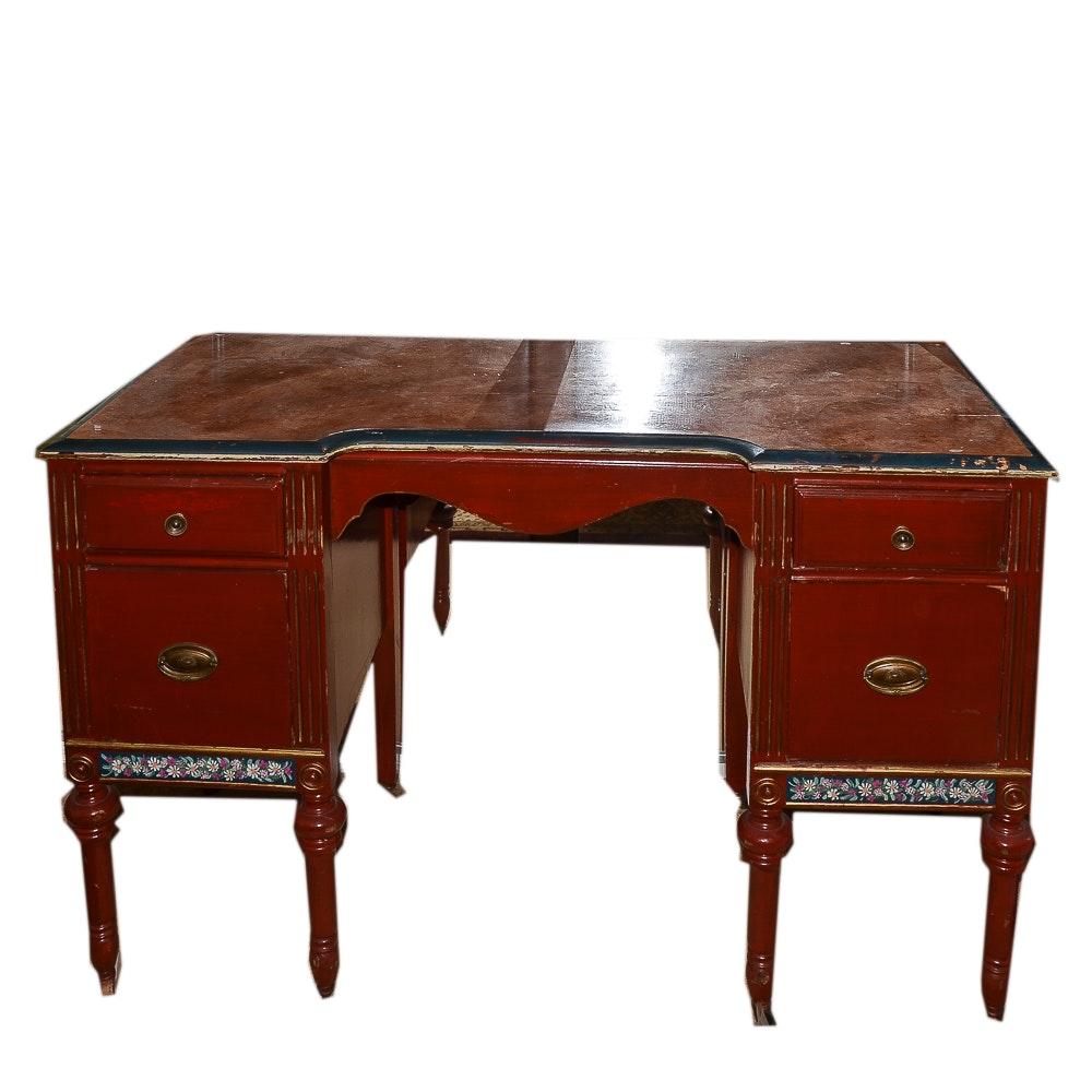 Vintage Sheraton Style Desk