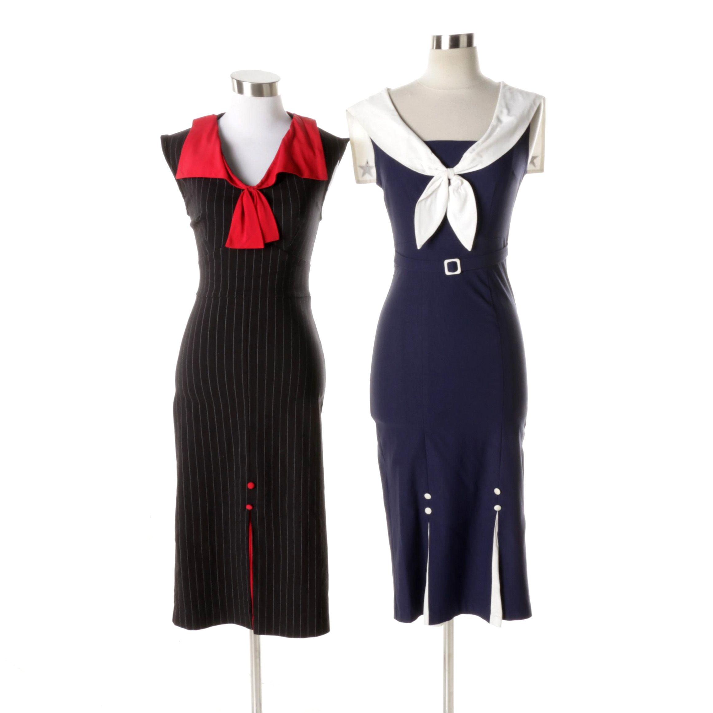 Retro Sheath Dresses
