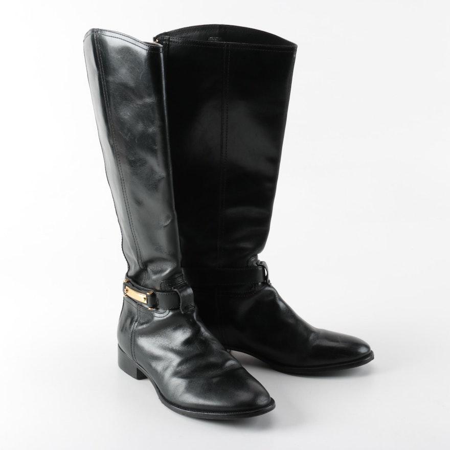 4a7ecbcabeedab Tory Burch Leather Boots   EBTH
