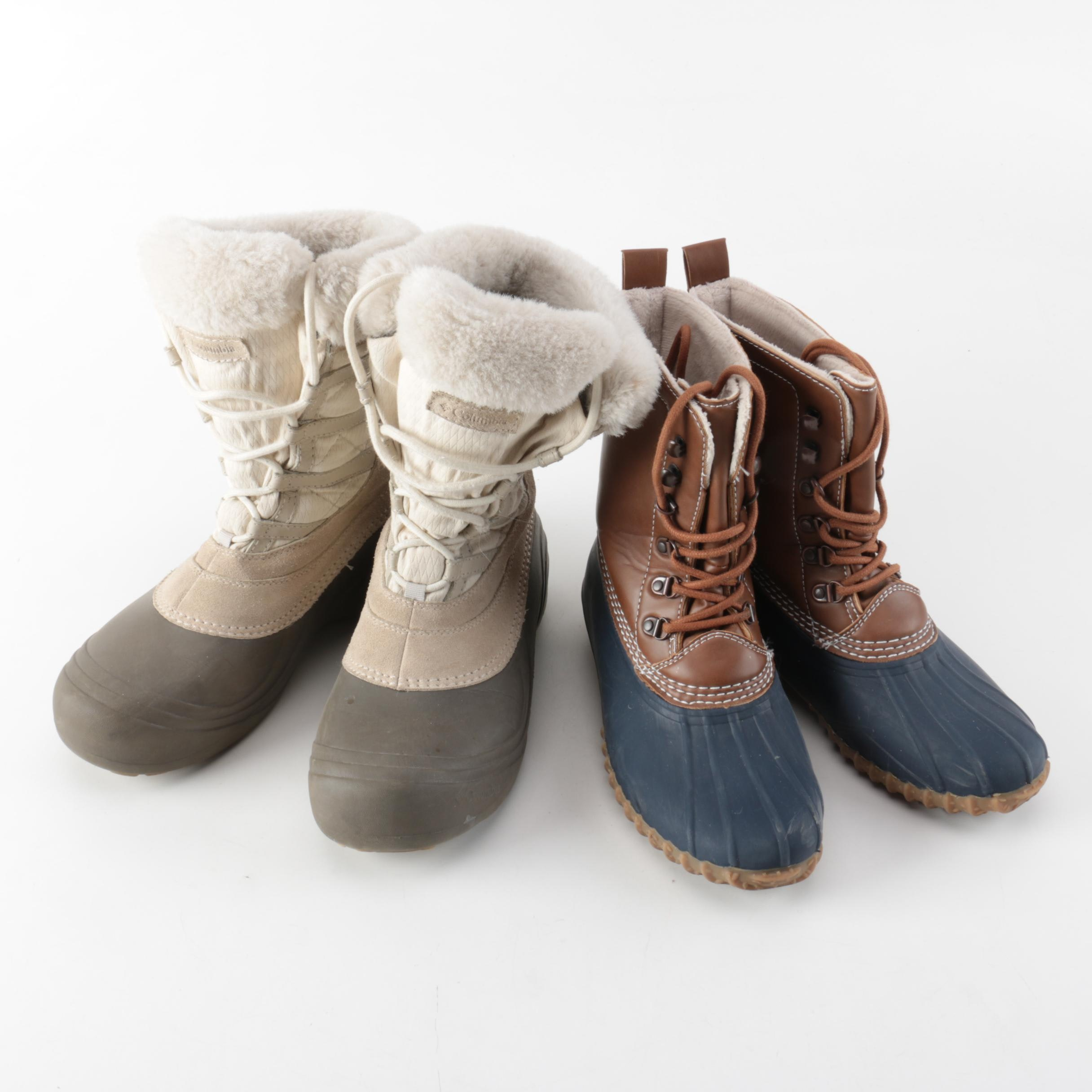 Women's Cold Weather Boots, Including Columbia