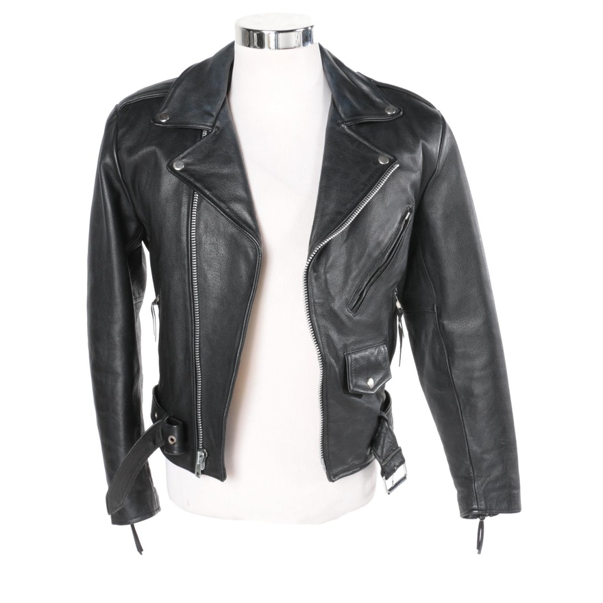 d51b9cefd Women's Wilsons Leather Black Leather Motorcycle Jacket