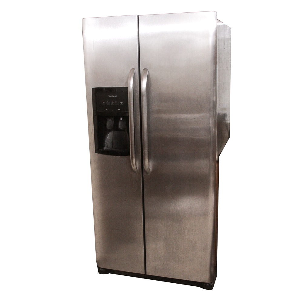 Frigidaire Stainless Double Door Refrigerator ...