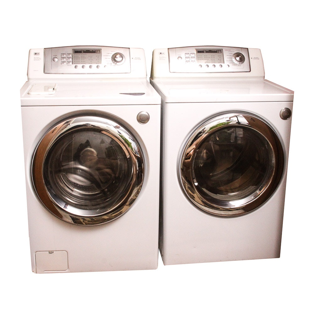 LG Front-Loading Washer and Dryer Set