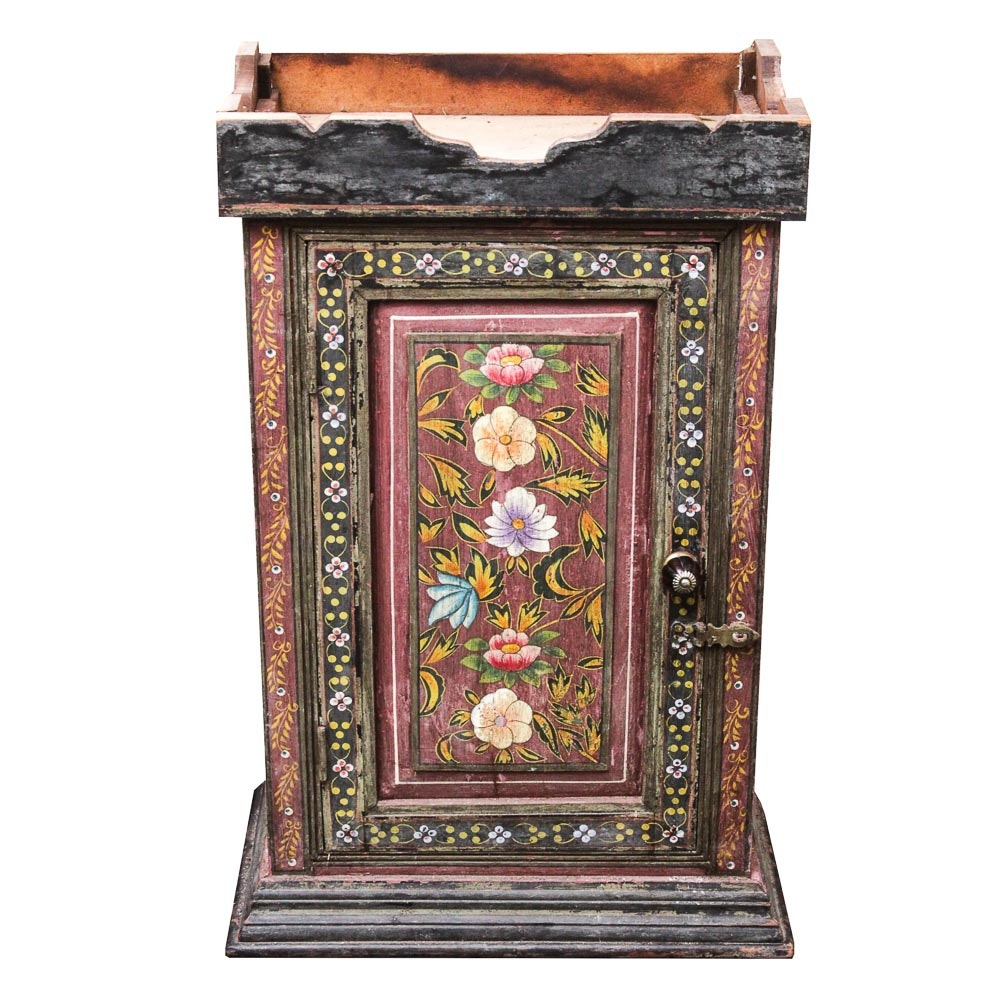 Painted Wooden Cabinet