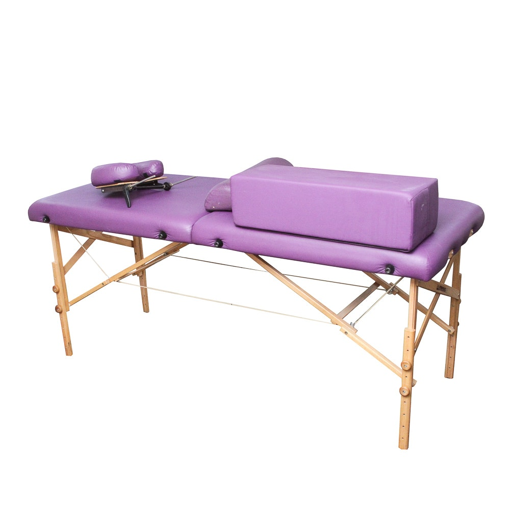 Foldable Massage Table by Stronglite