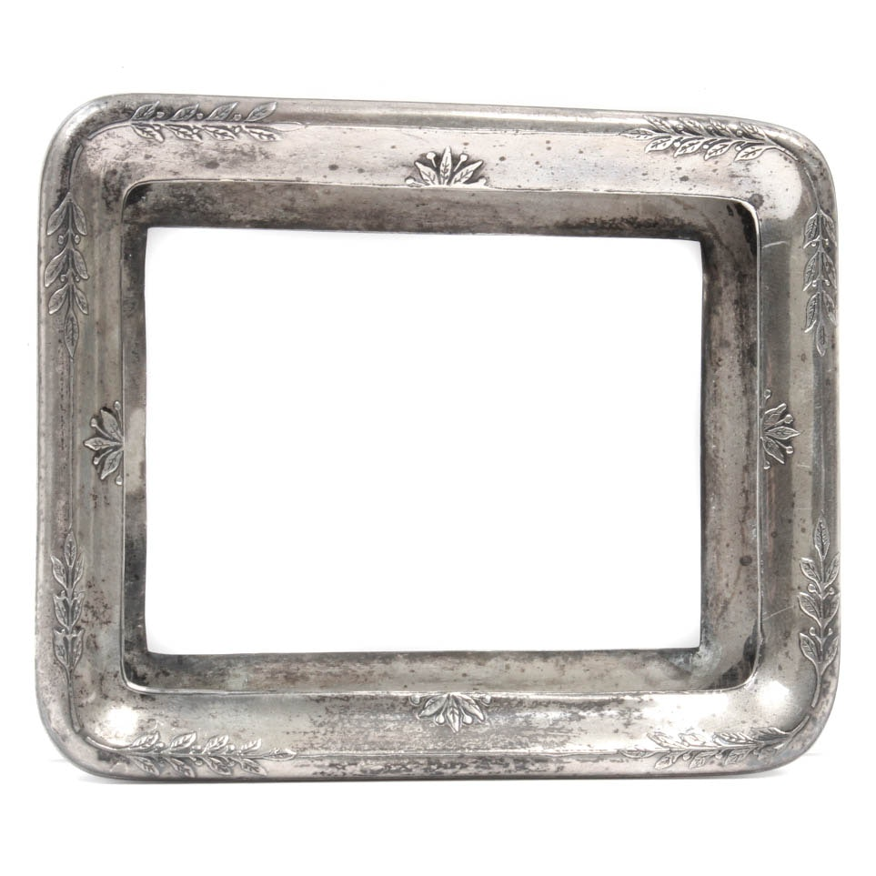 Antique Tiffany Co Sterling Silver Picture Frame Ebth