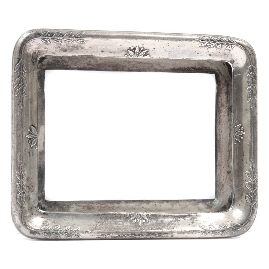 Antique Tiffany & Co. Sterling Silver Picture Frame : EBTH