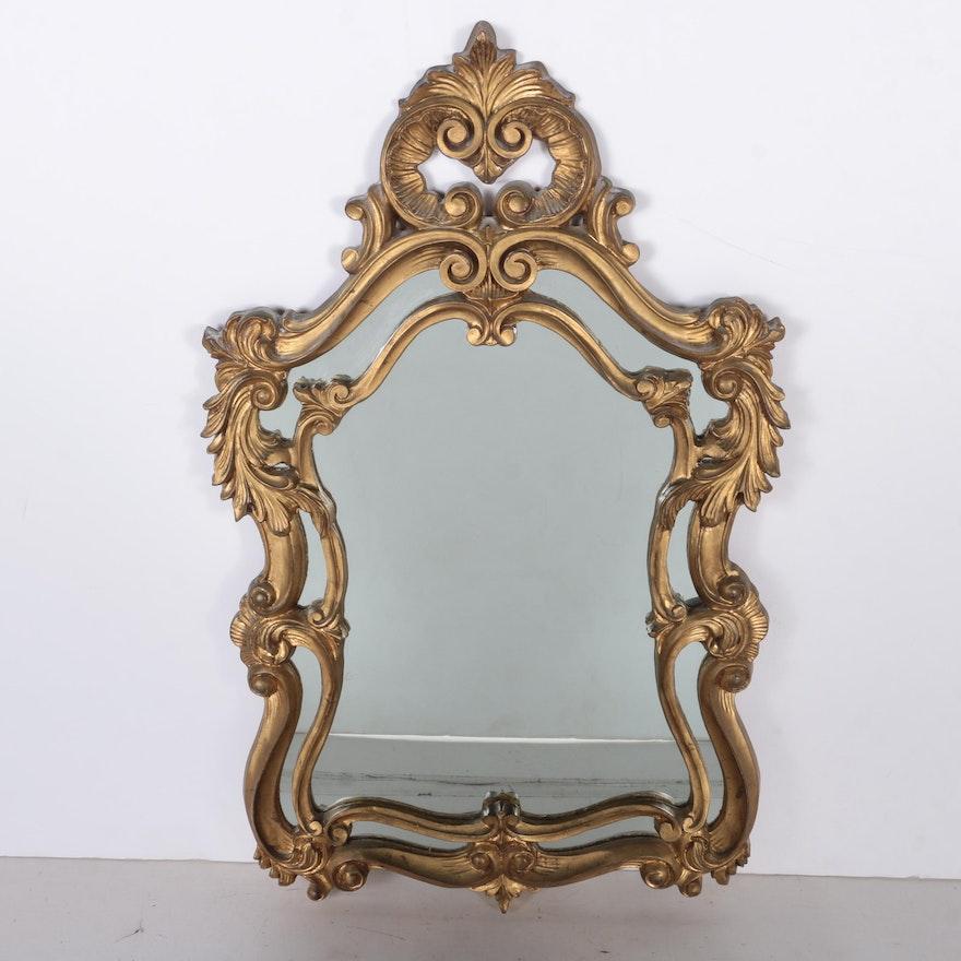 Rococo style wall mirror ebth for Baroque style wall mirror