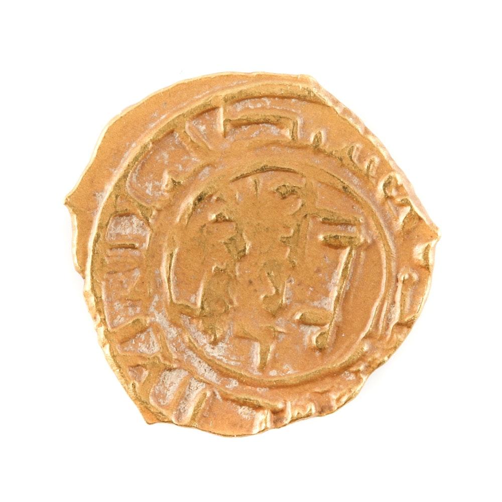 Ottoman Empire Gold 1/4 Dinar Coin
