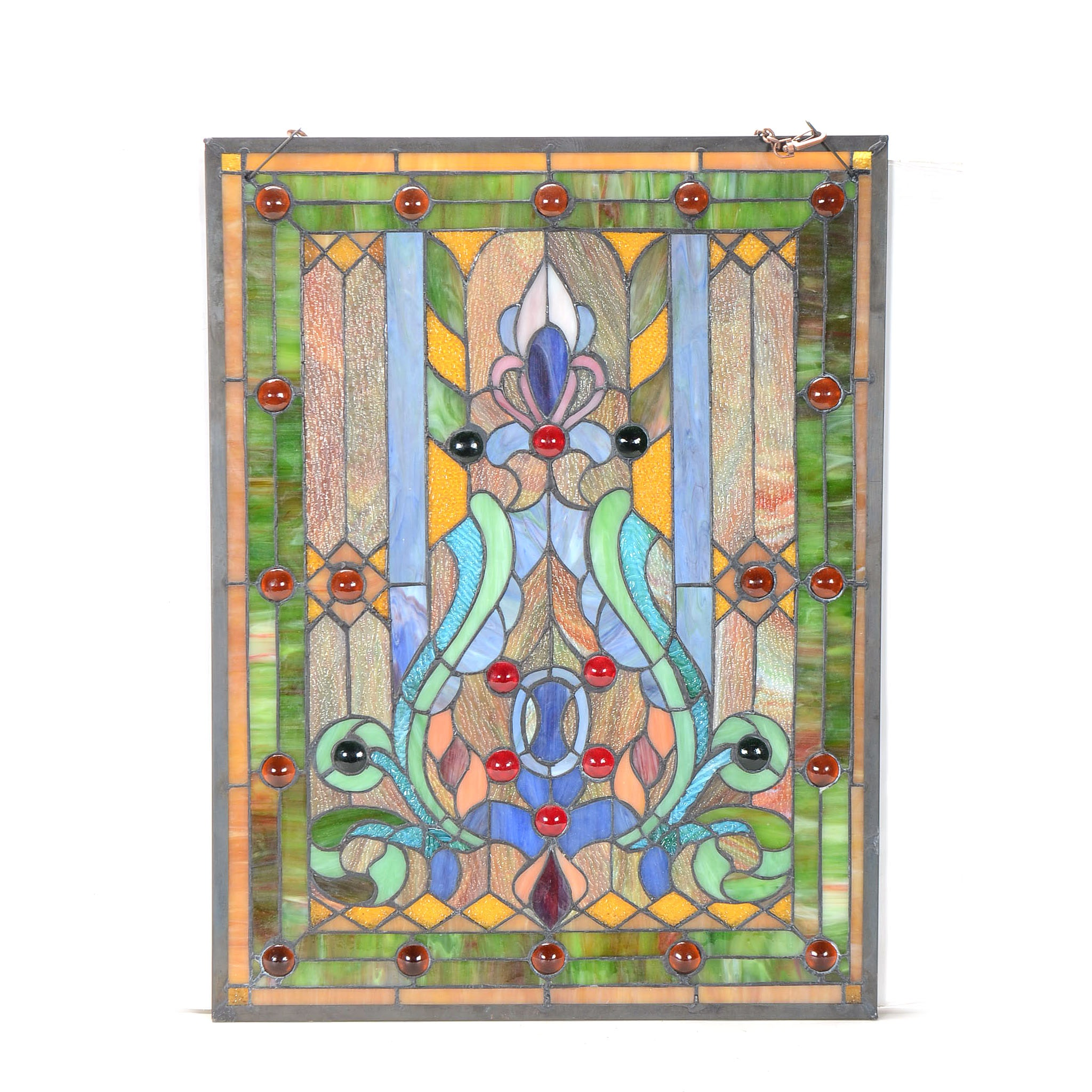 Hand-Crafted Custom Stained Glass Panel