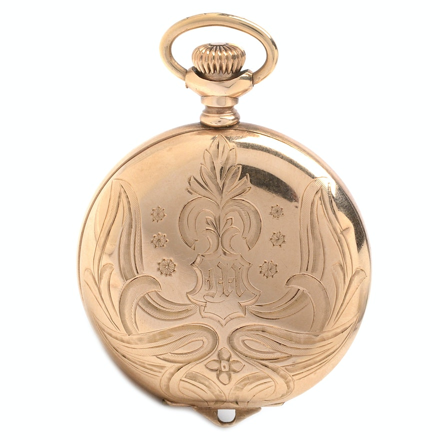 Antique gold filled elgin pendant watch ebth antique gold filled elgin pendant watch mozeypictures Choice Image