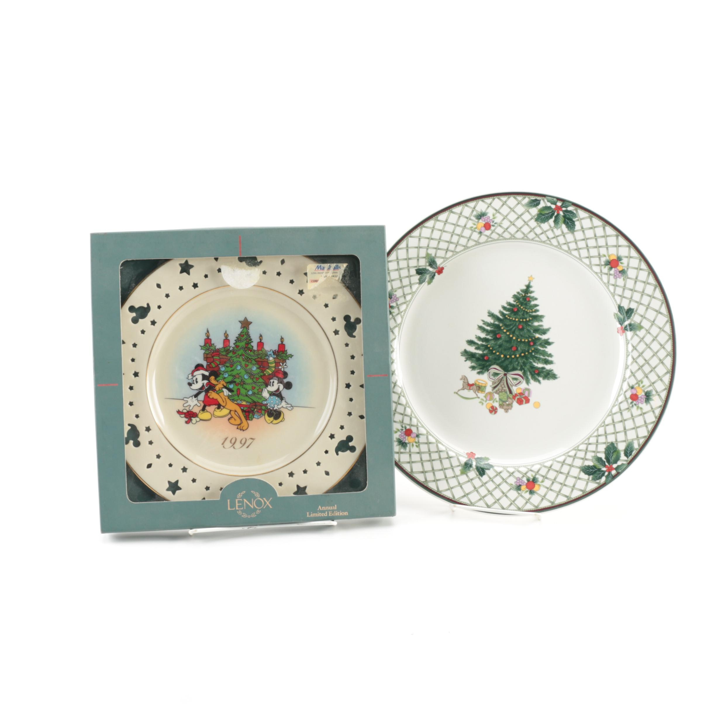 Lenox and Mikasa Holiday Plates ...  sc 1 st  EBTH.com & Lenox and Mikasa Holiday Plates : EBTH