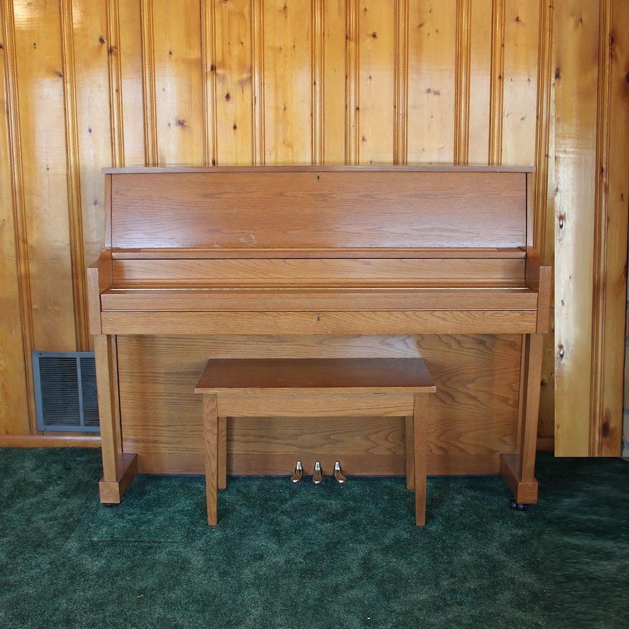 Vintage Kawai Studio Piano