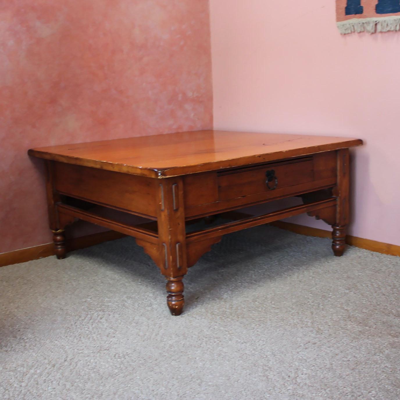 Jacobean Style Coffee Table