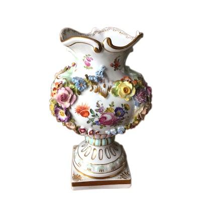 Vintage Decorative Vases Antique Vases In Fine Crystal Sterling