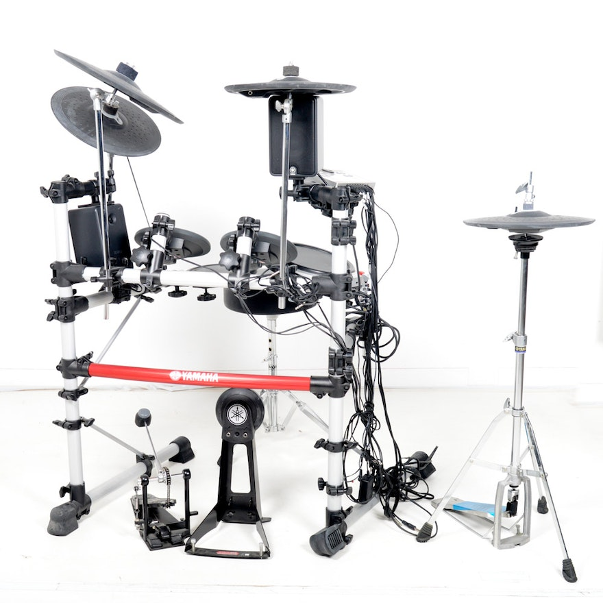 yamaha electric drum set with dtxpress iv drum trigger module ebth. Black Bedroom Furniture Sets. Home Design Ideas