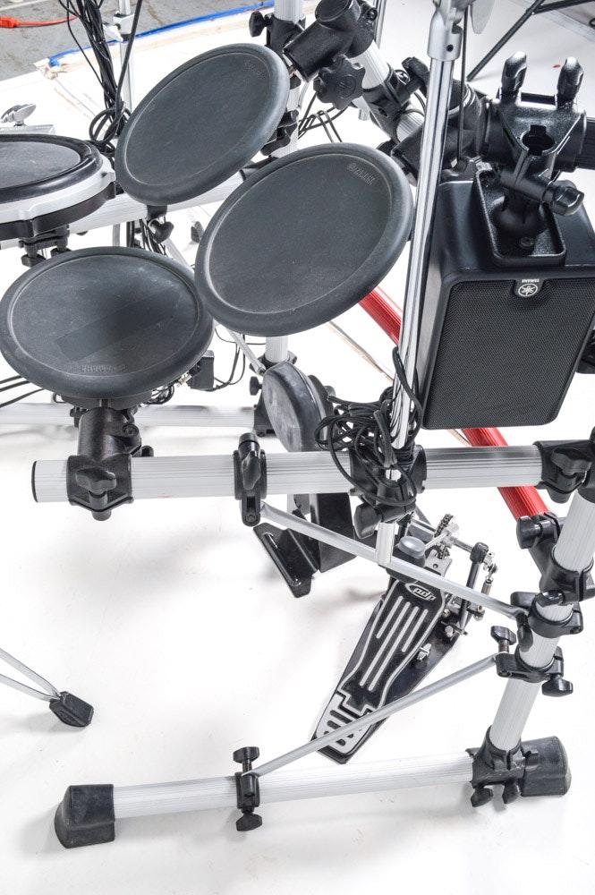 yamaha electric drum set with dtxpress iv drum trigger module ebth. Black Bedroom Furniture Sets. Home Design Ideas