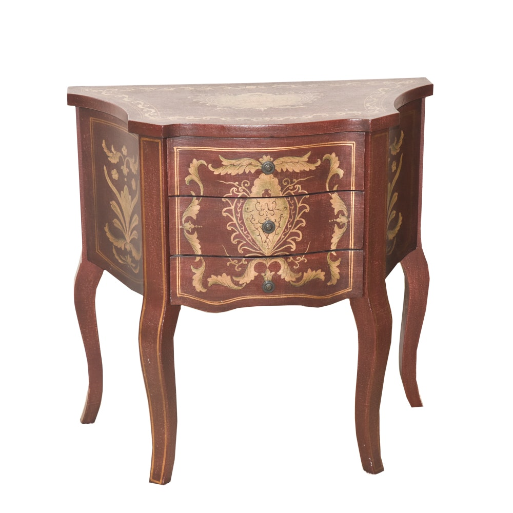 Louis XV Style Accent Table by The Bombay Company Outlet