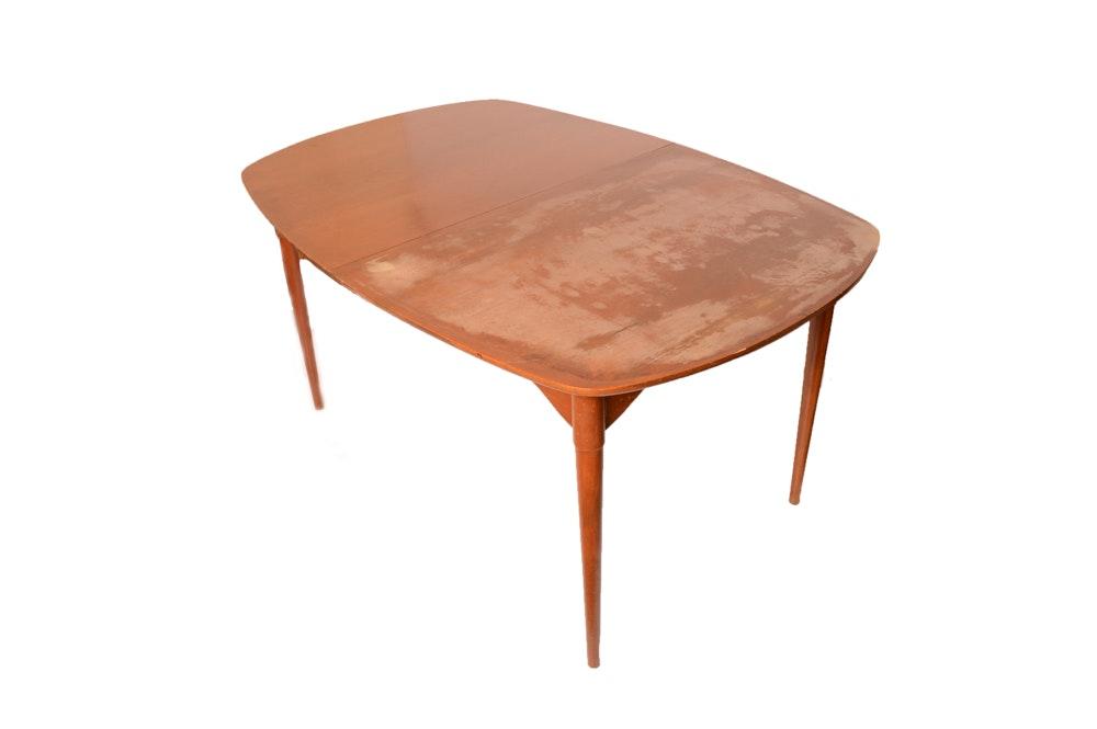 Danish Modern Style Teak Dining Table